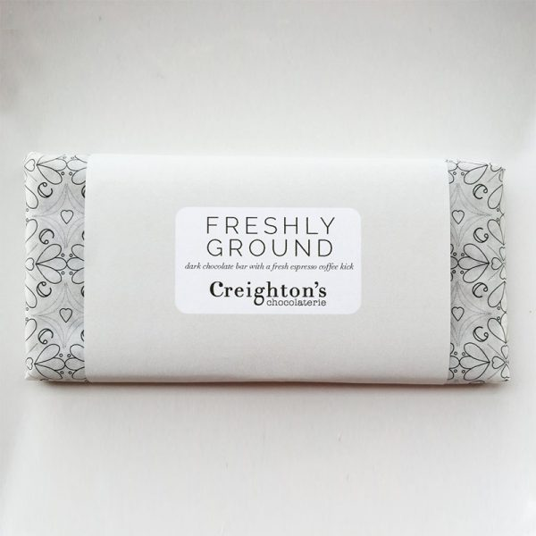 Freshly Ground Chocolate Bar