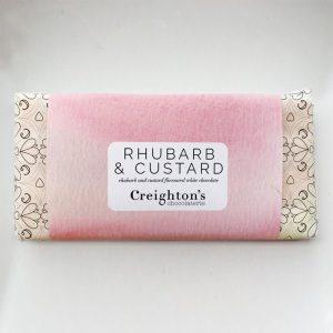 Rhubarb & Custard Chocolate Bar